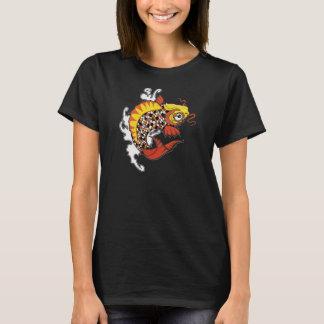 コイの魚のワイシャツ Tシャツ