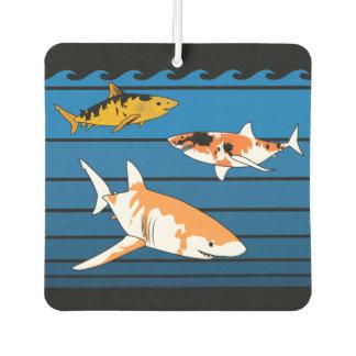 コイの鮫 カーエアーフレッシュナー
