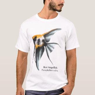 コイのAngelfishのTシャツ Tシャツ