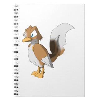 コイのReptilianの鳥-ペンブロークのウェルシュコーギー1 ノートブック