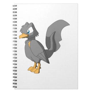 コイのReptilianの鳥- Ginbo ノートブック