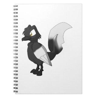 コイのReptilianの鳥- Hajiro ノートブック