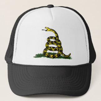 コイル状のガズデンの旗のヘビ キャップ