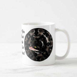 コイル状のヘビ コーヒーマグカップ