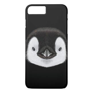 コウテイペンギンのひよこの図解入りの、写真付きのなポートレート iPhone 8 PLUS/7 PLUSケース