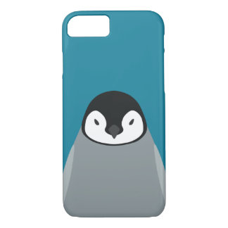 コウテイペンギンのベビー-鳥のiPhone 7の場合 iPhone 8/7ケース