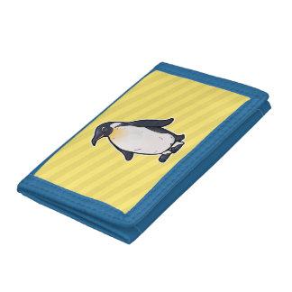 コウテイペンギン ナイロン三つ折りウォレット