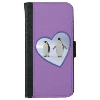 コウテイペンギン iPhone 6/6S ウォレットケース