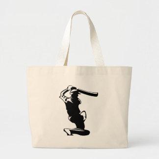 コオロギのねり粉プレーヤー ラージトートバッグ