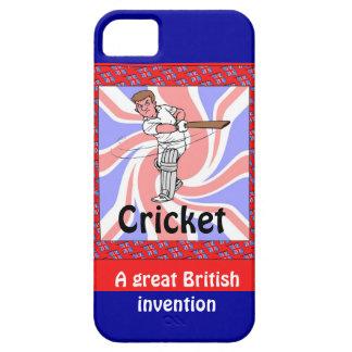 コオロギ、素晴らしいイギリスの発明 iPhone SE/5/5s ケース
