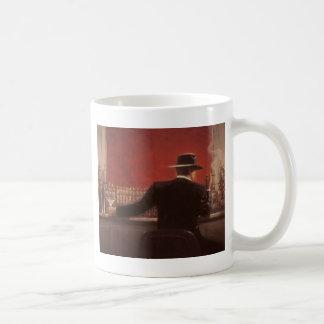 コクガンはシガーのバーにリンチを加えます コーヒーマグカップ