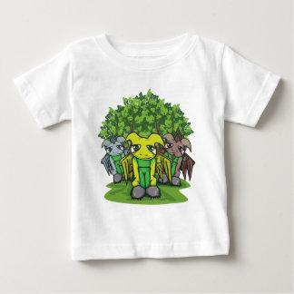 コケの人々のベビーの衣服 ベビーTシャツ