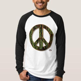 コケの平和Raglanのティー Tシャツ