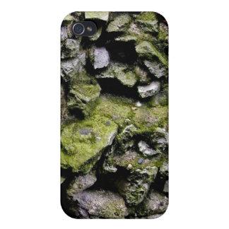 コケは石塀を覆いました iPhone 4 CASE