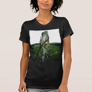 コケむした塀のポスト2 Tシャツ