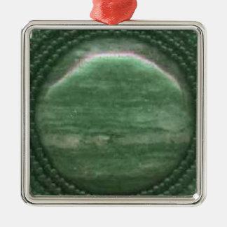 コケ瑪瑙の宝石用原石のマトリックス メタルオーナメント
