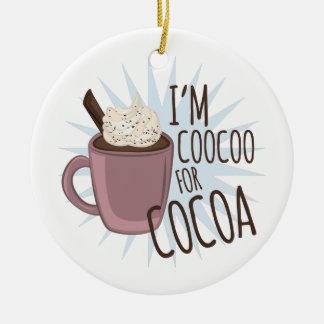 ココアのためのCoocoo セラミックオーナメント
