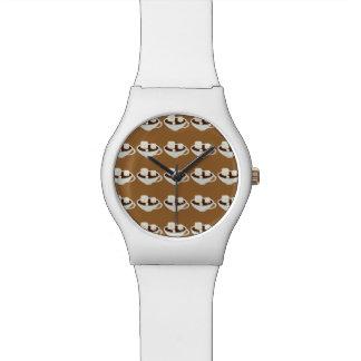 ココアの微笑のマシュマロ 腕時計