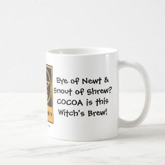 ココアはこの魔法使いの醸造物です! 生意気な魔法使いのマグ コーヒーマグカップ