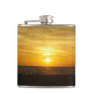 ココアビーチの日没 フラスク
