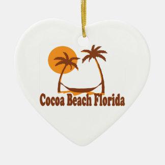 ココアビーチ-ビーチの設計 セラミックオーナメント