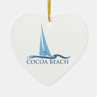 ココアビーチ-航行 セラミックオーナメント