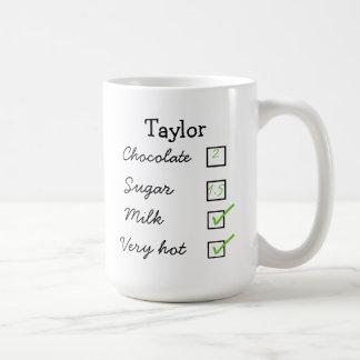 ココア/熱いココア個人の好みのマグ コーヒーマグカップ