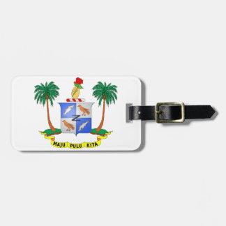 ココス群島の紋章付き外衣 ラゲッジタグ