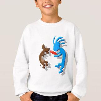 ココペリのウインナー犬 スウェットシャツ