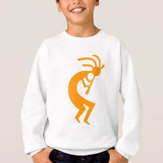 ココペリのオレンジ スウェットシャツ
