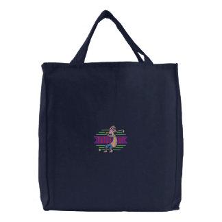 ココペリのゴルファー 刺繍入りトートバッグ
