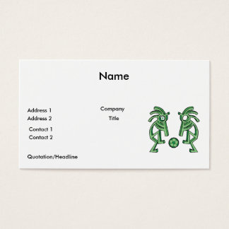 ココペリのサッカーのデザイン 名刺