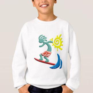 ココペリのサーフ スウェットシャツ