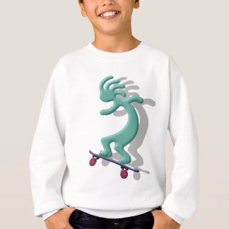 ココペリのスケートボード スウェットシャツ