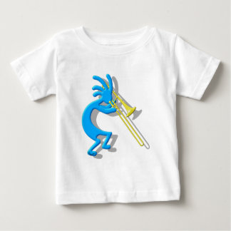 ココペリのトロンボーン ベビーTシャツ