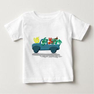 ココペリのネイティブアメリカンの休暇 ベビーTシャツ