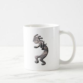 ココペリのネイティブアメリカンの兵士 コーヒーマグカップ