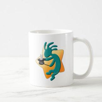 ココペリのネイティブアメリカンの手品師 コーヒーマグカップ