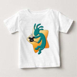 ココペリのネイティブアメリカンの手品師 ベビーTシャツ