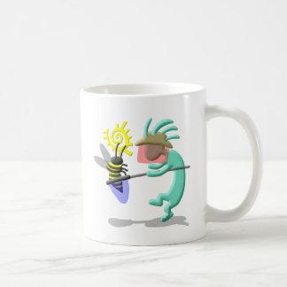ココペリのネイティブアメリカンの蜂の看守 コーヒーマグカップ