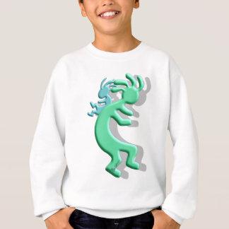 ココペリのネイティブアメリカンPapoose スウェットシャツ
