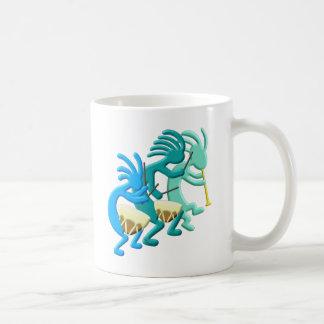 ココペリのファイフ及びドラム コーヒーマグカップ