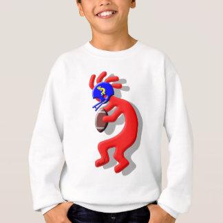 ココペリのフットボール スウェットシャツ