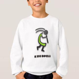 ココペリのフルートプレーヤー スウェットシャツ