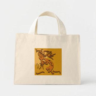 ココペリのミュージシャンのアートワーク ミニトートバッグ