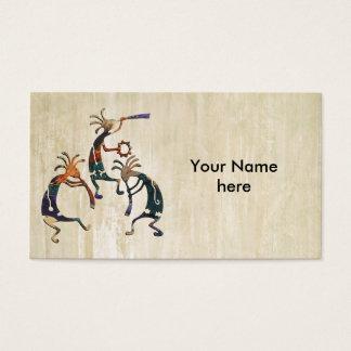 ココペリのミュージシャンのトリオ + あなたのアイディア 名刺