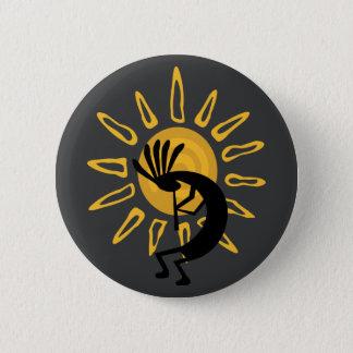 ココペリの南西金ゴールドの日曜日ボタン 缶バッジ