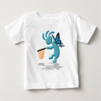 ココペリの子供の蝶ハンター ベビーTシャツ