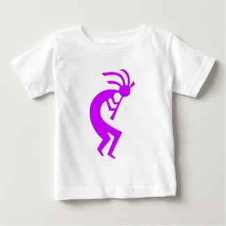 ココペリの紫色 ベビーTシャツ