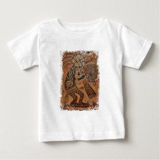 ココペリの絵画 ベビーTシャツ